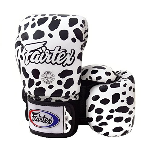 Fairtex Boxing Gloves BGV1 Limited Edition - Wild Amimal Collection (Dalmatian, 12 oz)