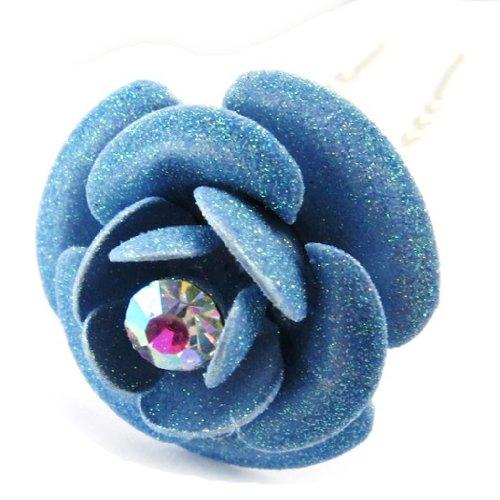Les Trésors De Lily [B7978] - Picot Créateur 'Rose' Bleu Ciel