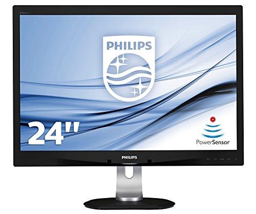 Preisvergleich Produktbild Philips 240B4QPYEB / 00 61 cm (24 Zoll) PLS-Monitor (VGA,  DVI,  USB,  DisplayPort,  1920 x 1200,  60 Hz,  Pivot) schwarz