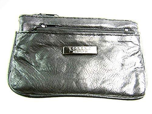 Homme Femme Mesdames Petit Super Doux en cuir véritable portefeuille porte-monnaie Pochette porte-clés
