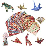 MOOKLIN ROAM Niños Color Kit de Origami, 60pcs Papel para P