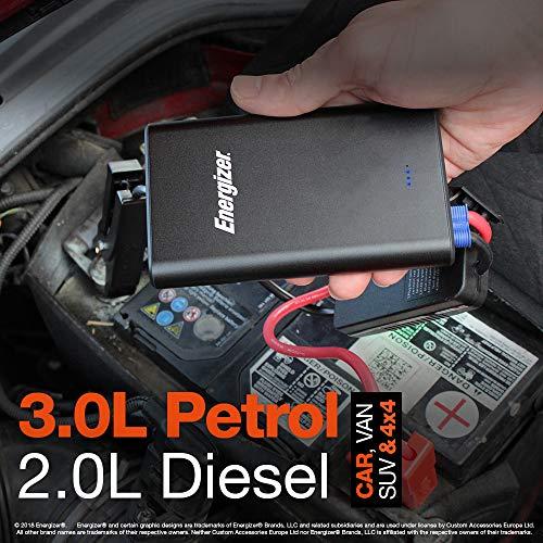 Energizer 50805 Lithium-Polymer-Kfz-Starthilfe, 7500 mAh