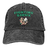 Not Fighting Sioux Adjustable Unisex Hat Baseball Caps Black