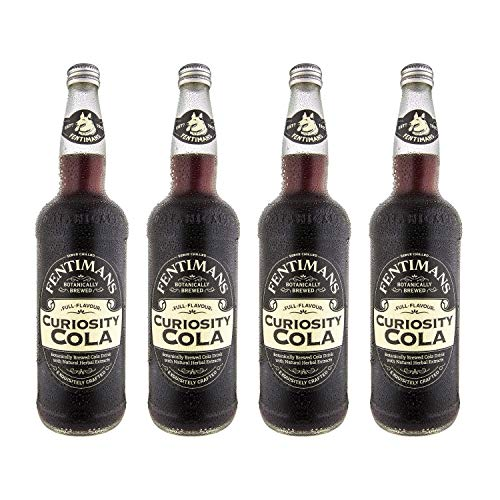 Fentimans Traditional Curiosity Cola Beer 750 ml (Pack of 4)