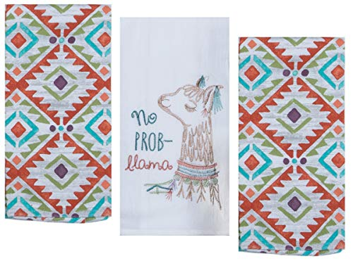 Top 10 Best Selling List for vintage kitchen towels geometric