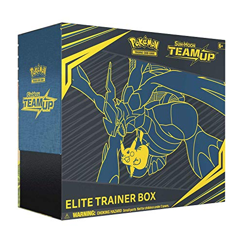 Pokemon Sun & Moon Team Up Elite Trainer Box,...