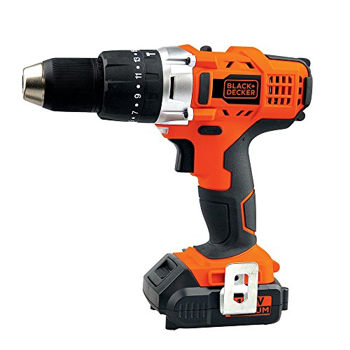 BLACK+DECKER HP14-B3 Taladro Percutor Inalámbrico Ion de Litio 14.4V