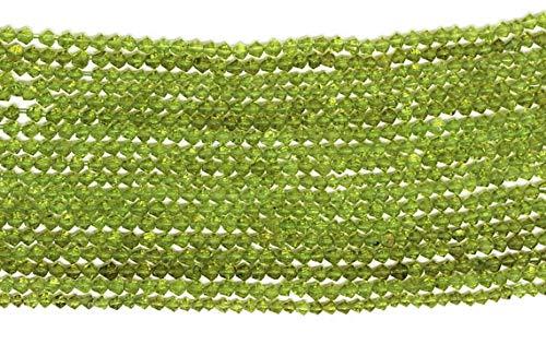LOVEKUSH 50 % rabatt ädelsten smycken 36 cm naturlig peridot fasetterad fin form pärlor strand 4,5 mm till 5 mm AAA-kvalitet/augusti månadssten/halvädelsten pärlor kod: - RADE-25503