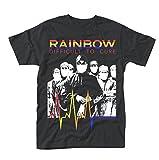 Plastic Head Rainbow Difficult To Cure Camiseta, Negro (Black), XX-Large para Hombre