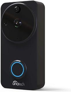 AhaTech Video Door Bell Pro 1080p Wireless Camera with Chime Full HD Home Security Video Door Bell (Video Door Bell)