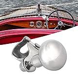volante de barco deportivo de acero inoxidable Asistente de giro de bola para yate