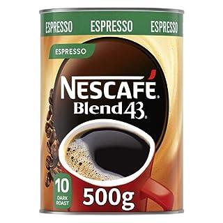 NESCAFÉ Blend 43 Espresso Instant Coffee 500g Tin (B088NVW1X1) | Amazon price tracker / tracking, Amazon price history charts, Amazon price watches, Amazon price drop alerts