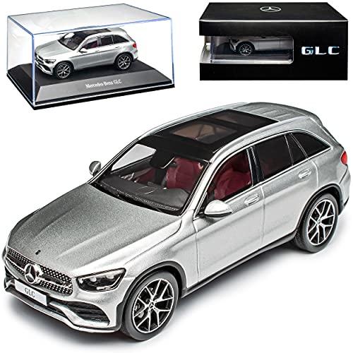 Mercedes-Benz GLC X253 Plata 1ª generación Modelo a partir de 2015 Versión a partir de 2019 1/43 Spark Modelo Auto