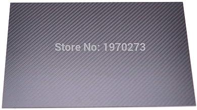 Plaque carbone de plaque de carbone 0,2/mm x 300/mm x 200/mm fibre de carbone satin/é