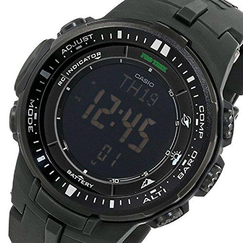 『[カシオ]CASIO 腕時計 PROTREK プロトレック PRW-3000-1A オールブラック メンズ [逆輸入モデル]』の2枚目の画像