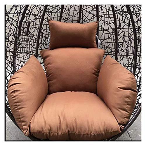 LLNN Home Decoration Swing Chair Cushion Swing Basket Cushion/Hanging Egg Seat Cushion/Washable, Gift  Garden 50x60cm Hanging Basket Furniture Cushion (Color : B)