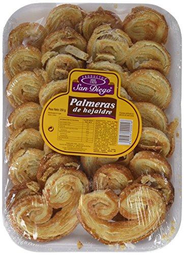 Productos San Diego Palmeras de Hojaldre - Paquete de 10