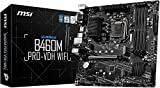 MSI - B460M PRO-VDH Wifi - Placa Base Pro Series (10th Gen Intel Core, LGA 1200 Socket, DDR4, Doble Ranura M.2, USB 3.2 Gen 1, Gigabit LAN, VGA/DVI-D/HDMI)