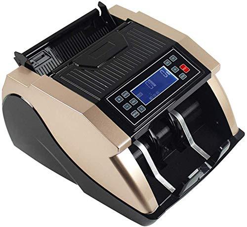 Knoijijuo Contador Dinero con UV, detección de Billetes Falsos, Bill máquina de Contar con velocidades más Altas, 1000 Billetes por Minuto, Profesional Efectivo máquina contadora