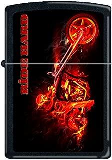Zippo Lighter - Night Devil Black Matte