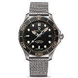 Pagani Design 007 Seamaster - Reloj de buceo automático para hombre,...