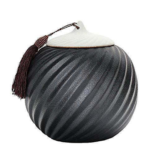 Buy Bargain Pet Ashes Box Animal Memorial jar Ceramic Fade Resistance Seal jar Lightweight Spin Exte...