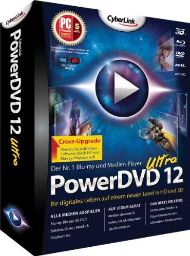 PowerDVD 12 Ultra Cross-Upgrade