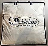 Molina 100% Piumino D' Oca Siberiano 4 Punti Calore ANTIALLERGICO Ultra Bianco Gilda Top ASSOORO Garanzia 10 Anni Produzione D'ECCELLENZA Personalizzata (250x220)