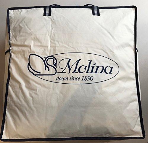 Molina Gilda Top 100% Piumino D'oca Siberiana 4 QUATTRO STAGIONI Combinabile ***+* Punti Calore Matrimoniale 250x200 Produzione Personale D'eccellenza