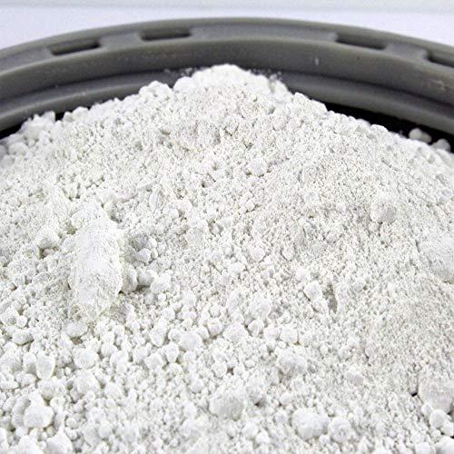 @tec Titanweiss Rutil - Oxidweiß Pigmentfarbe Oxidpigment Titandioxid Eisenoxid Weißmacher Trockenfarbe - 1kg (11,90 Euro/kg) Beutel - zum Einfärben von Beton, Estrich, Putz, Epoxidharz uvm