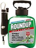 Roundup Désherbant Allées Cours et Terrasses avec Pulvérisateur à Pression, 2,5L