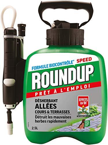 professionnel comparateur Pulvérisateur à pression Roundup Road and Patio Weed Control 2.5L choix