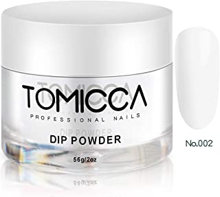 TOMICCA Dipping Powder for Nail Health Clear 2 oz, 56g / Jar Suit for All Dip Brand