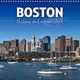 BOSTON History and urban idyll (Wall Calendar 2022 300 × 300 mm Square): Landmarks and typical cityscapes (Monthly calendar, 14 pages )