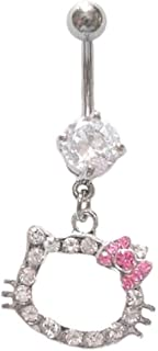 Best hello kitty belly ring Reviews