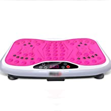 Vibration Plate Fitness Trainers Magnetic Shiatsu Massage 3D Slim Vibrating Power Machine with Remote Control And Bluetooth Music 99 Levels DSB Color B Estimated Price : £ 363,21