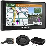 Garmin 010-01540-01 DriveSmart 60LMT GPS Navigator with GPS Bundle