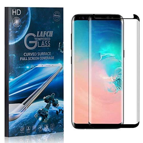 1 Stück Schutzfolie für Galaxy S8, LAFCH Displayschutzfolie für Samsung Galaxy S8, 3D Full Cover Panzerglasfolie, Anti-Kratzer/9H Härte
