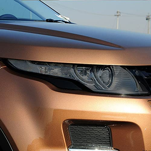 DDNAF 2 Pcs Car Headlight Transparent Film 2021 spring and summer new Black Tint Protective Detroit Mall