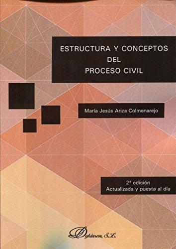 Estructura y conceptos del proceso civil.