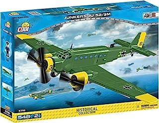 COBI 5710 Junkers JU 52/3M Building Blocks, Green,Yellow