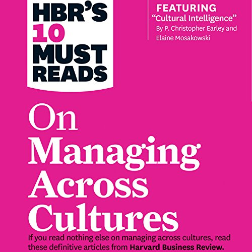 HBR's 10 Must Reads on Managing Across Cultures cover art