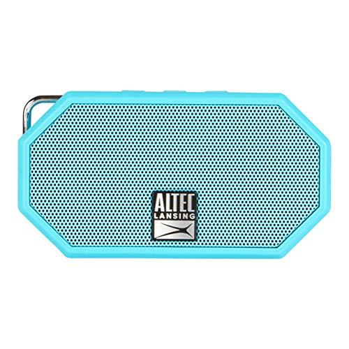 Altec Lansing Mini H2O Azul - Altavoces portátiles (De 1 vía, Neodimio, 2,54 cm, 2,54 cm, Inalámbrico y alámbrico, 10 m)
