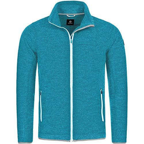 GIESSWEIN Herren Jacke Silas - leichte Sportjacke aus 100% Merinowolle, atmungsaktive Sportbekleidung, Männer Funktionskleidung für Wandern, Trekking, Trail Running