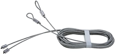 National Hardware N280-347 V7618 Torsion Spring Lift Cables in Galvanized, 2 pack