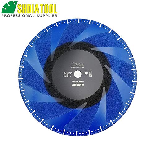 For Sale! Xucus DIATOOL 2pcs 400mm Vacuum Brazed Diamond Blade for All Purpose 16 Demolition Blade ...
