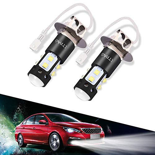 Citroen XM Y4 100w Super White Xenon HID Low Dip//LED Side Light Headlamp Bulbs