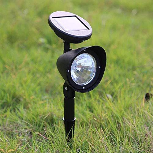 HZWLF Sensor Wasserdichtes Gartenlicht mit automatischem EIN/Aus-LED-Rasen-Solarstrahler Solar-Außenlampe