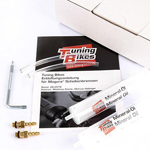 Tuning-Bikes Entlüftungs-Kit Basic für Magura® Scheiben- und Felgenbremsen (auch EBT) - Mit Torx T7