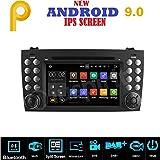 Android 7.1, GPS DVD USB SD Wi-Fi Bluetooth Autoradio 2 DIN Navigationssystem Mercedes Benz Klasse SLK R171 Mercedes W171.